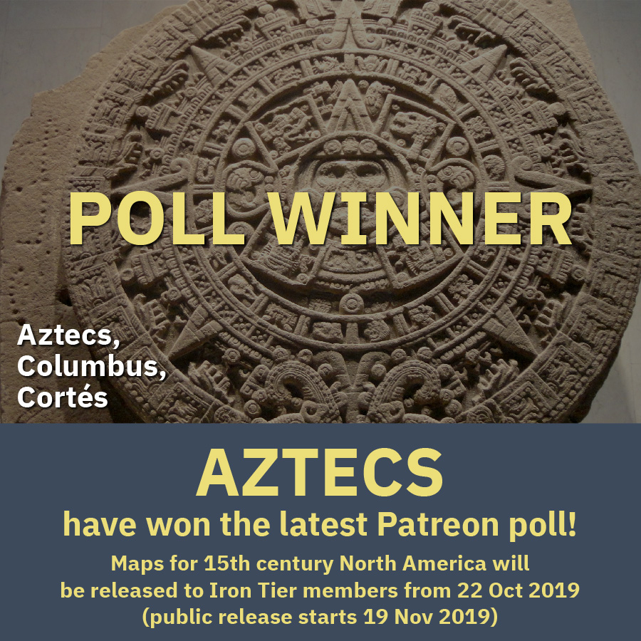 Aztecs win the first Omniatlas poll