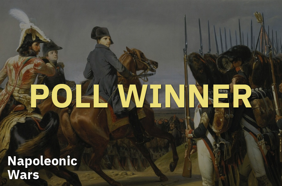 July 2020 Omniatlas poll: Napoleonic Wars wins